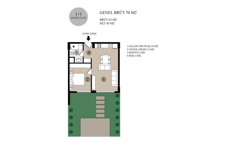 La Perla Suites - 1 bed