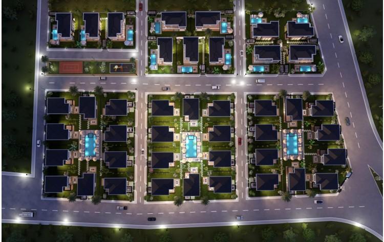 Luxury villas with private pool near beach