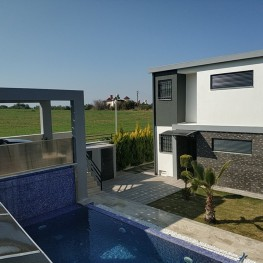 Luxury detached villa with privaate pool with seaviews.